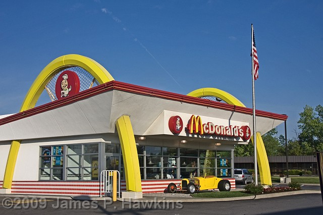 Old Fashioned Mcdonalds Restaurant Building At Utica Ny Slides