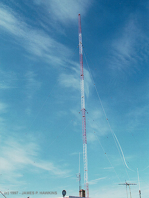 how to build a radio tower