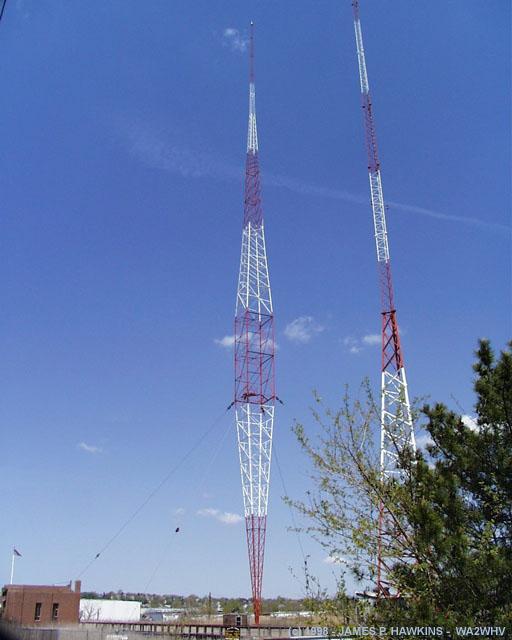 Blaw-Knox Diamond Radio Towers (Jim Hawkins Radio and